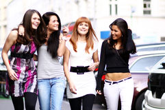 Urban women Royalty Free Stock Photography