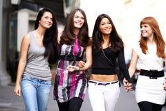 Urban women Stock Photo