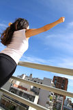 Urban Yoga Royalty Free Stock Images