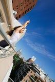 Urban Yoga Royalty Free Stock Image