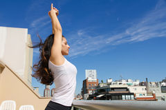 Urban Yoga Stock Images