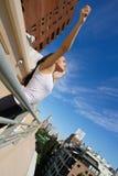 Urban Yoga Stock Photography