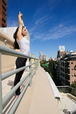 Urban Yoga Royalty Free Stock Photography