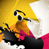 Urban youth background. Colorful artistic urban youth background Stock Photo