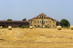 Urbana (Padua, Véneto, Italy) - exploração agrícola Fotografia de Stock