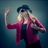 Urbane vrouw Royalty-vrije Stock Foto