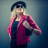 Urbane woman Royalty Free Stock Images