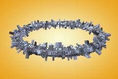 Urbanisatie Royalty-vrije Stock Fotografie