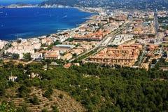Urbanisation de ville côtière Photographie stock