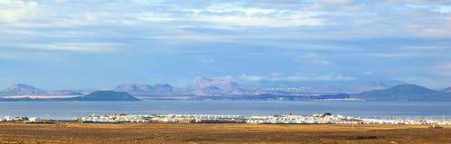 Urbanisation project in Playa Blanca Royalty Free Stock Photos