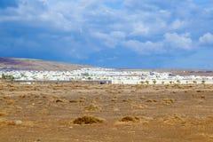 Urbanisation project in Playa Blanca Stock Image