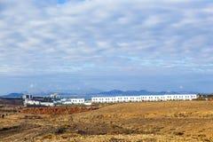 Urbanisation project in Playa Blanca Stock Photos