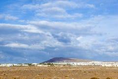 Urbanisation project in Playa Blanca Royalty Free Stock Image