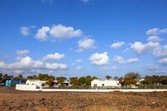 Urbanisation resorts in Lanzarote Royalty Free Stock Images