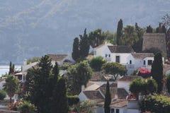 Urbanisation San Nicolas (Grenade Espagne) Photographie stock libre de droits