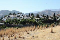 Urbanisation San Nicolas (Grenade Espagne) Images stock