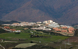 Urbanisation in southern Spain Stock Images