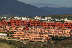 Urbanisation in southern Spain Royalty Free Stock Photo