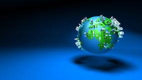 Urbanisation of the world Stock Photo