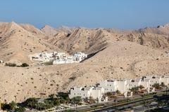 Urbanização em Muscat, Omã Imagens de Stock Royalty Free