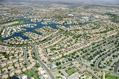 Urbanización Foto de archivo