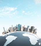 Urbanization concept Royalty Free Stock Image