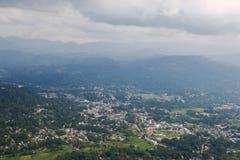 Urbanization of village royalty free stock image