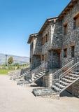Urbanization of stone houses Stock Images