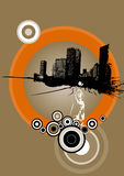 Urbanization. Vector art Stock Photos