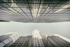 Urbanized świat fotografia stock