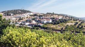 Urbaniztion on Jerez de los caballeros Royalty Free Stock Photo