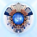 Urbanizzazione Immagine Stock