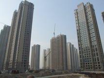Urbanizzazione della Cina Immagini Stock Libere da Diritti