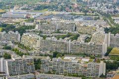 Urbanizzazione di Monaco di Baviera Fotografie Stock