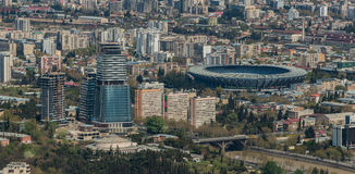 Urbanizzazione II di Tbilisi Fotografia Stock