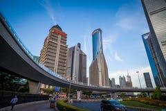 Urbano de Shangai oh China; Fotografía de archivo