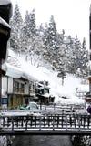 Urbano no inverno Foto de Stock