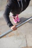 Urbano spinga aumenta l'allenamento Immagini Stock