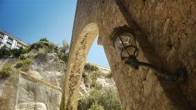 Urbanscape Monaco, Cote D'Azur Francja zbiory wideo