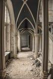 Urbex城堡 免版税图库摄影