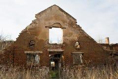 Urbex övergiven fabrik, Stihnov, Tjeckien Arkivfoton
