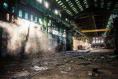 Urbex abandonó Warehouse Fotos de archivo libres de regalías