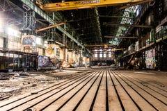 Urbex abandonned Warehouse. Warehouse boat south of france empty abandonned stock images