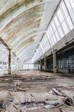 URBEX i fabrik Royaltyfri Bild