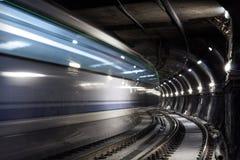 Urbex i tunnelbanan Arkivbilder