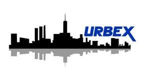 Urbex icon design. Creative design of Urbex icon royalty free illustration