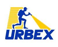 Urbex icon design. Creative design of Urbex icon design royalty free illustration