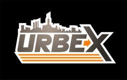 Urbex icon design. Creative design of Urbex icon design stock illustration