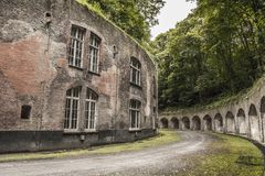 Urbex Military Building Royalty Free Stock Photography