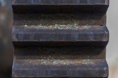 Urbex Pignons des machines abandonnées photographie stock